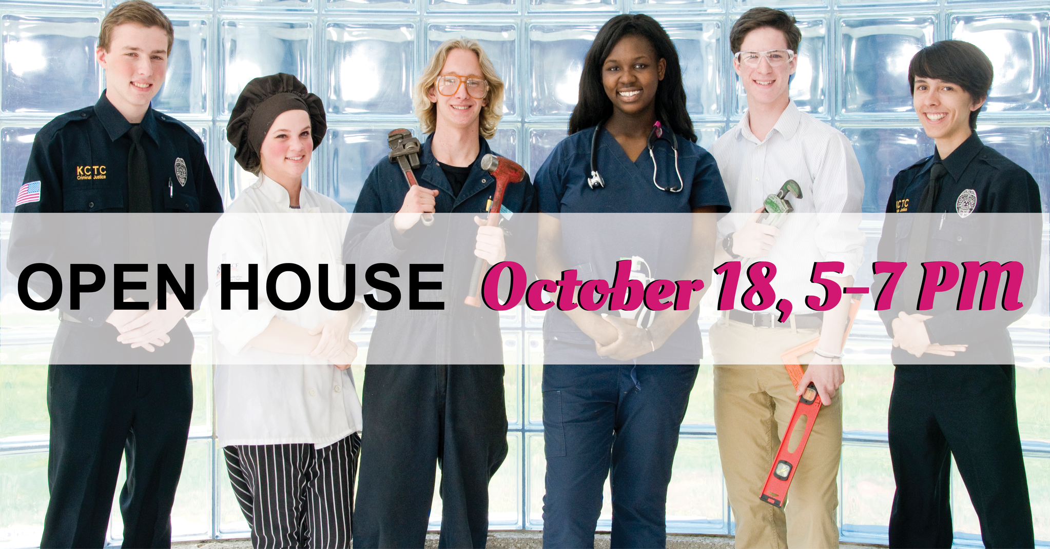 Open House - October 18, 5-7pm