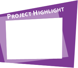 Project highlight frame