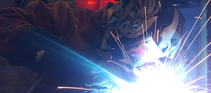 welding - sparks flying